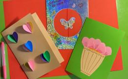Мастер-класс по изготовлению поздравительной открытки ко Дню матери
